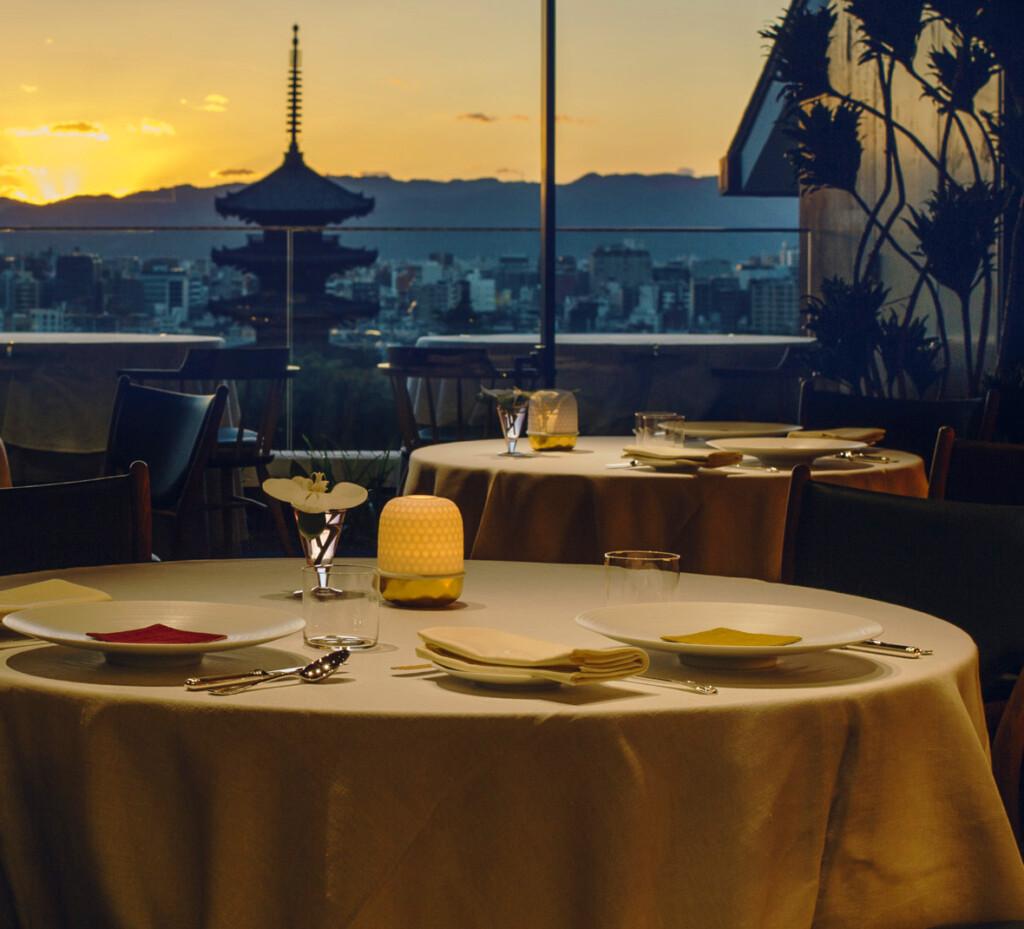京都でおすすめのプロポーズスポットでレストランひらまつ高台寺