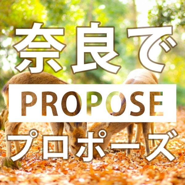 奈良のおすすめプロポーズスポットスクエア