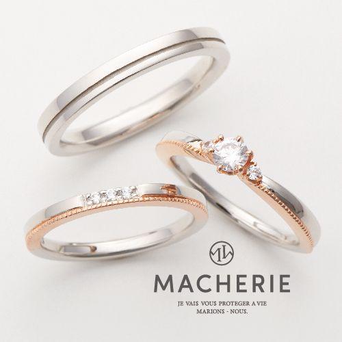 結婚指輪オシャレミル打ち