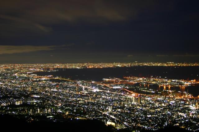 神戸プロポーズスポット六甲山夜景