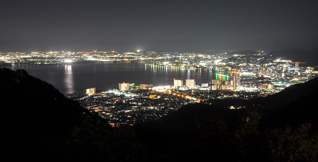 滋賀でプロポーズするなら夜景が美しい比叡山ドライブウェイ