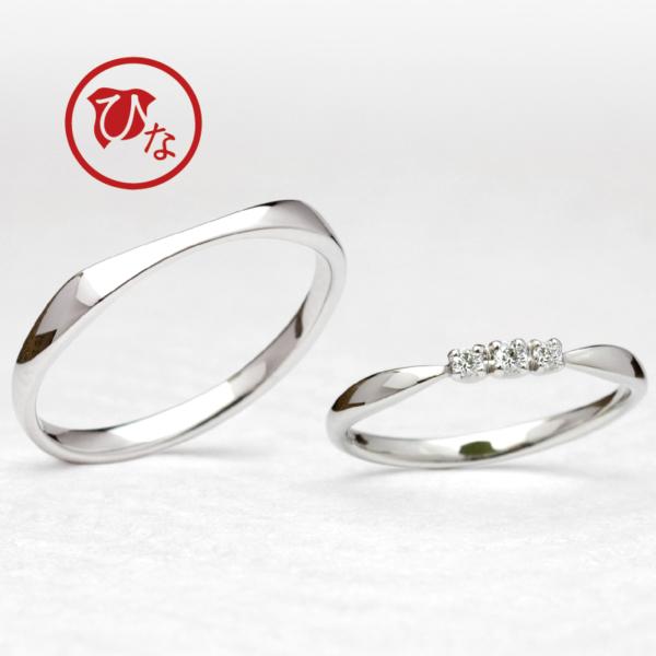 ひなの結婚指輪を取り扱うgarden梅田