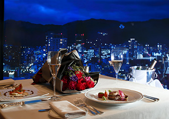 神戸のレストランでプロポーズするならレストランエメラルド