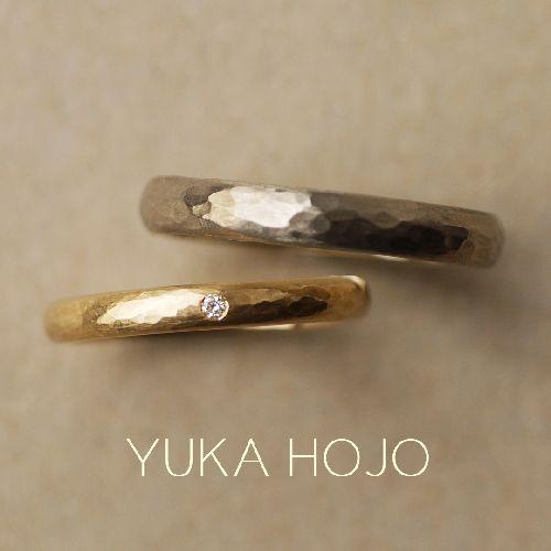 ユカホウジョウの結婚指輪でパッセージオブタイム