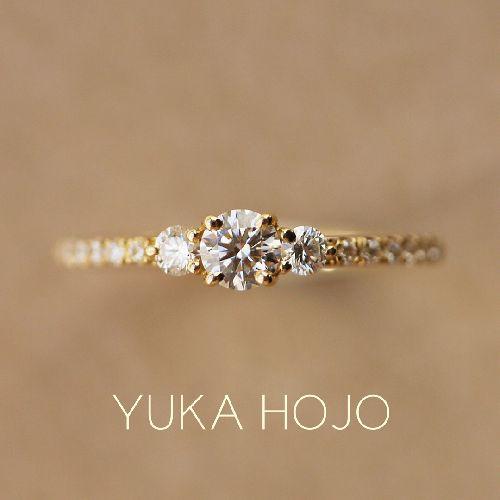 YUKAHOJOの婚約指輪