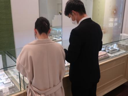 EURO WEDDING BANDの結婚指輪 大阪市福島区