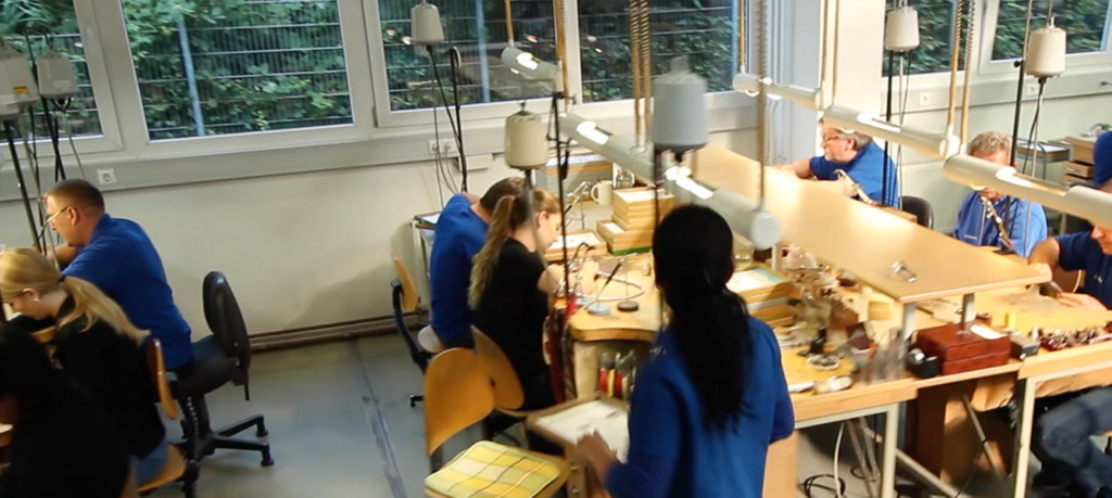 フィッシャーの製造過程の風景