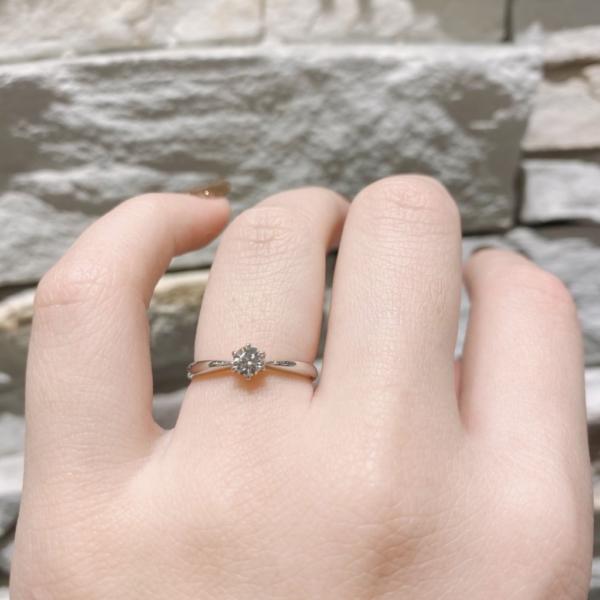 即日お持ち帰り婚約指輪