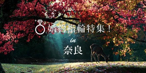 奈良の婚約指輪のバナー