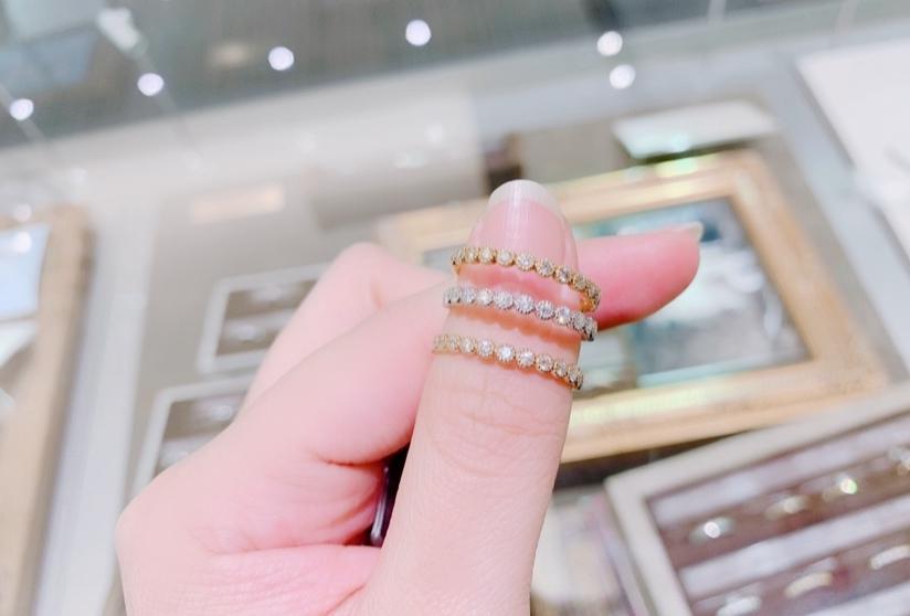 プレゼント指輪結婚記念日