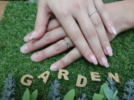 RosettEの結婚指輪 大阪府交野市