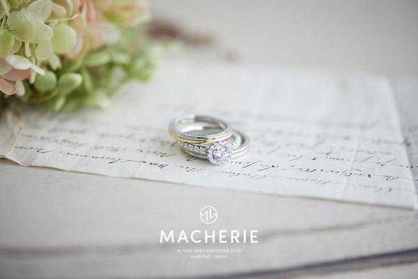 マシェリ 結婚指輪