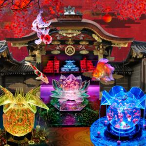 大阪gardenのサプライズプロポーズ アートアクアリウム