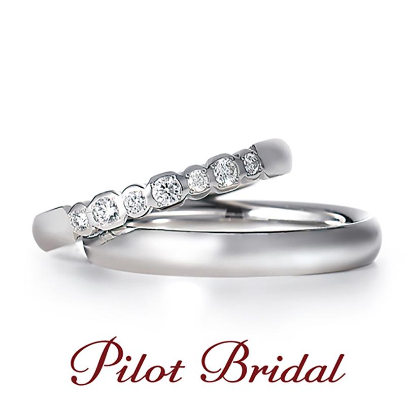 Pt999パイロット結婚指輪