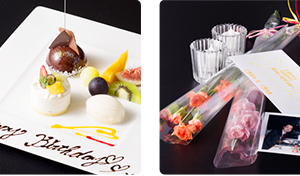 大阪のサプライズプロポーズ 和歌山マリーナシティホテル レストラン「カーロ・エ・カーラ」