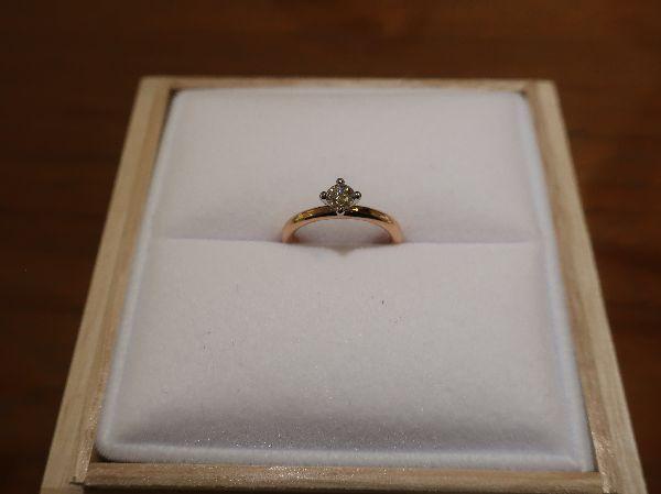 FISCHERの婚約指輪