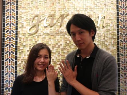 ミンサーリングの結婚指輪 大阪府