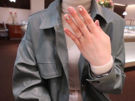 LAPAGEの婚約指輪 大阪府豊中市
