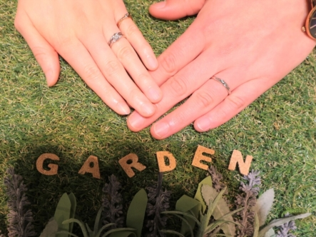 MILK&Strawberryの婚約指輪とBeauty and the beastの結婚指輪 兵庫県尼崎市
