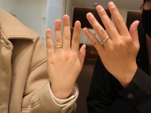 YUKA HOJOの結婚指輪 大阪府