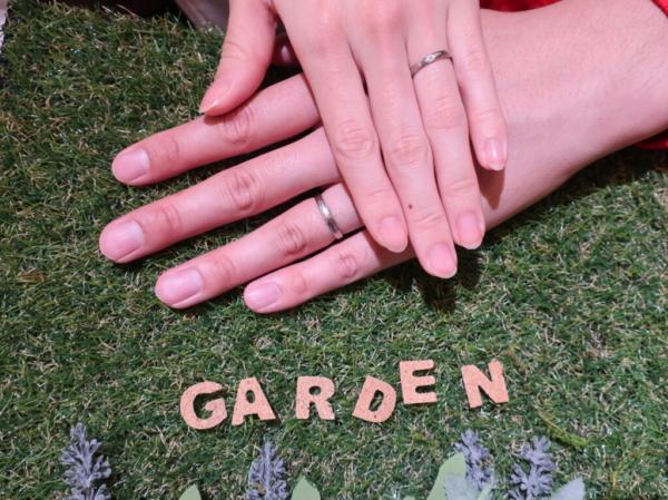 Quand de Mariageの婚約指輪とFISCHERの結婚指輪 大阪市平野区