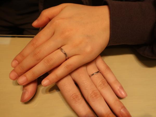 SiRuSiとLAPAGEの結婚指輪 大阪府枚方市