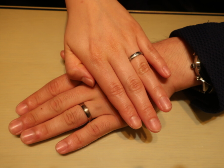 GERSTNERの結婚指輪 大阪市天王寺区