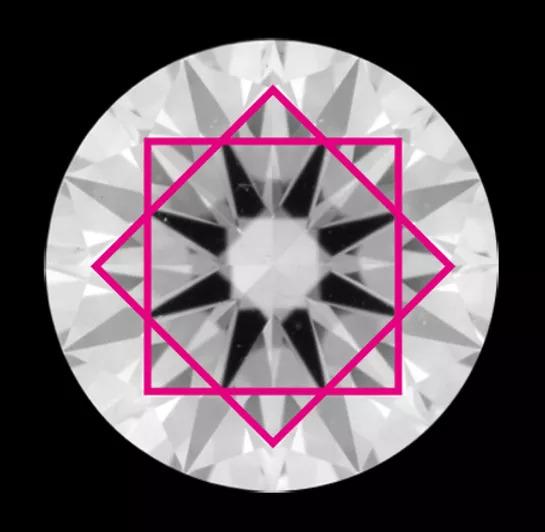 普通のダイヤモンドの説明