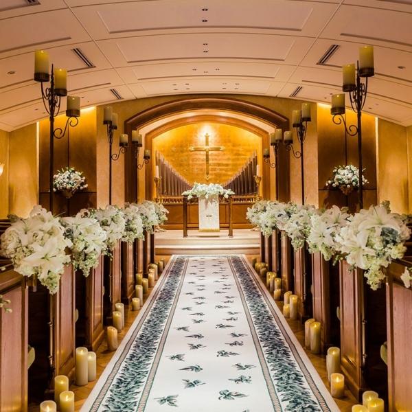 お城・チャペルでプロポーズ 横浜ロイヤルパークホテル