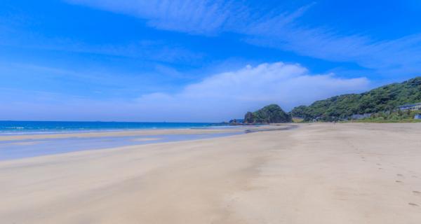 beachでプロポーズの入田浜