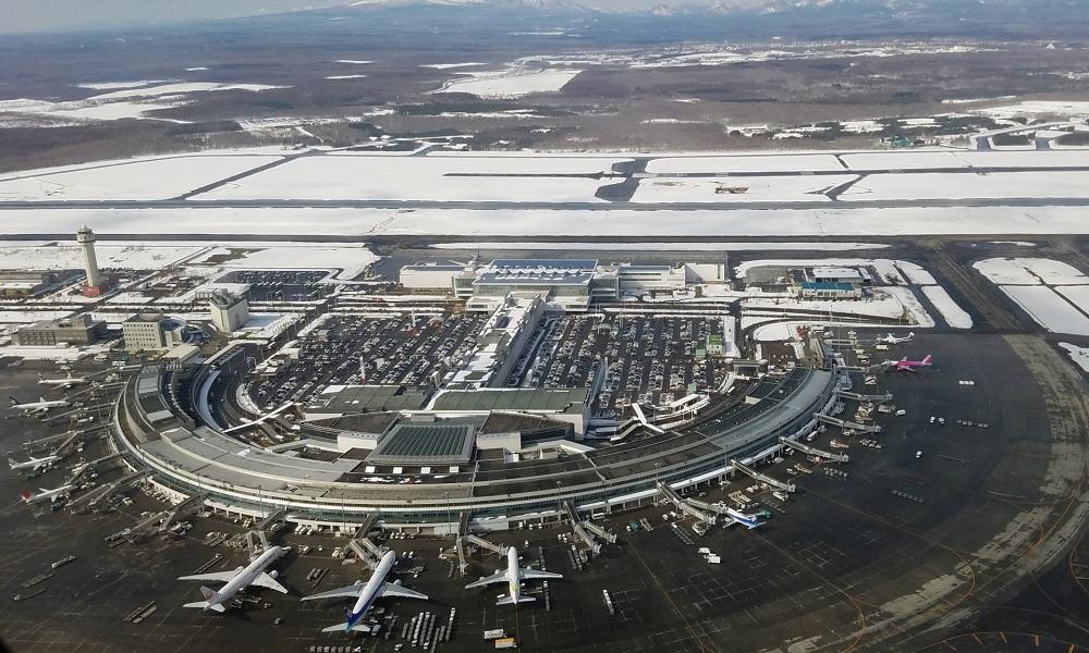 新千歳空港でプロポーズ