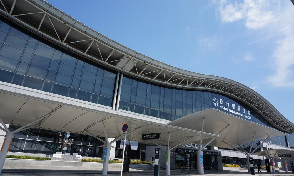 仙台国際空港でプロポーズ