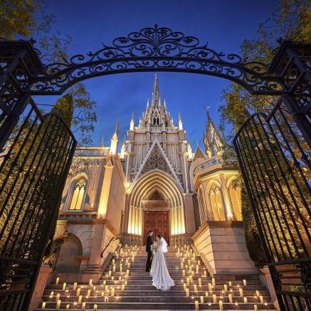 お城・チャペルでプロポーズ 青山セントグレース大聖堂