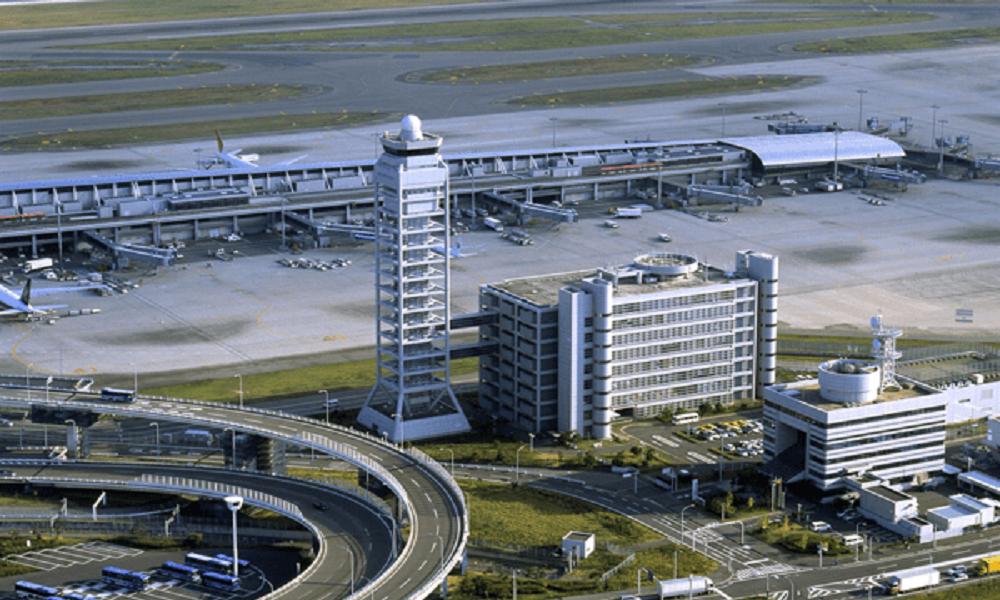 関西国際空港でプロポーズ