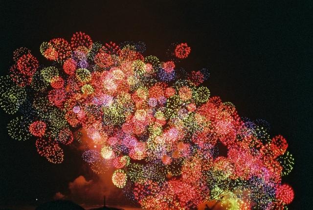 三重の花火大会熊野大花火でプロポーズ